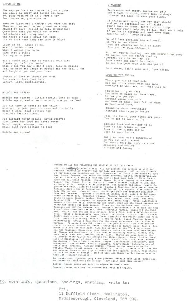 Catharsis (Beyond A Joke) lyr