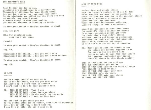 CFC lyrics'