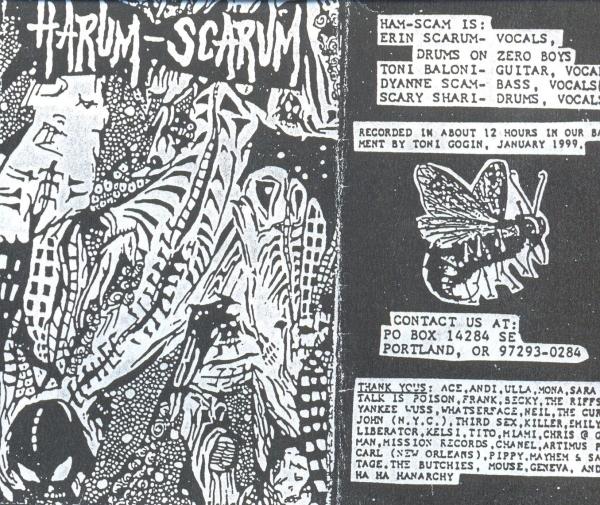 Harum Scarum demo-cover