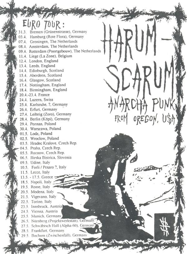 Harum Scarum tour