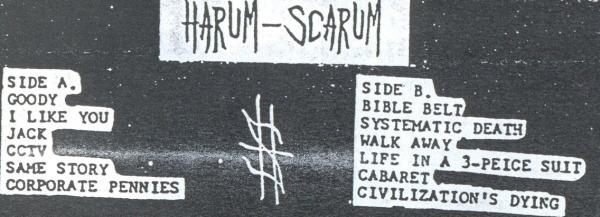 Harum Scarum tracklist