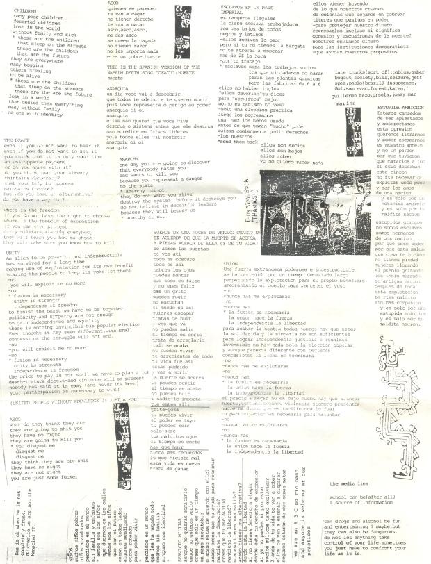 Huasipungo lyrics'