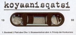 Koyaanisqatsi tape