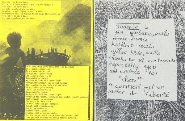 Anomie booklet lyrics 7