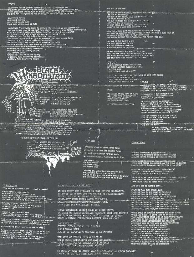 Black Kronstadt lyrics