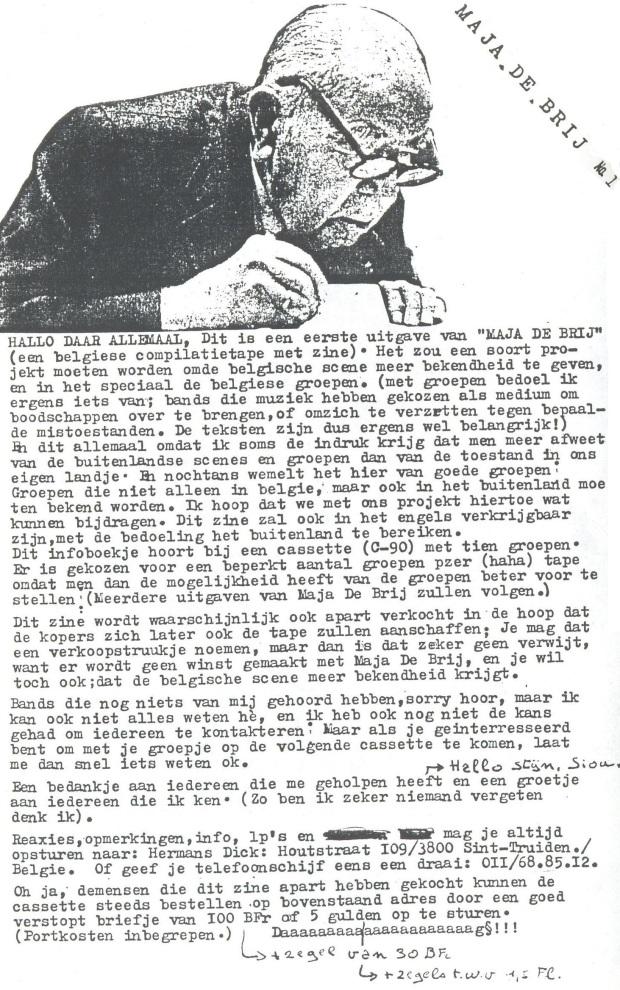 Maja De Brij - booklet intro
