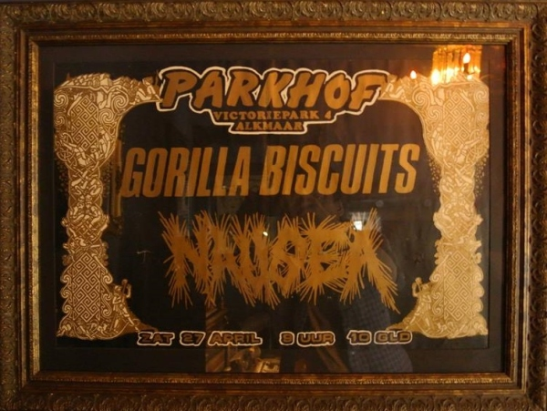 91-04-27 Gorilla Biscuits - Nausea (Parkhof)