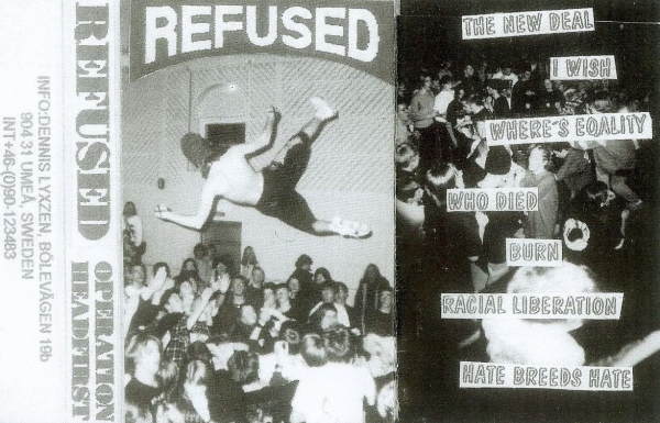 Refused Operation Headfirst demo cover