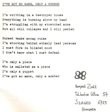 88 Szeged lyric
