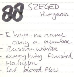 88 Szeged tracks