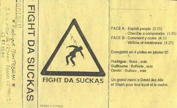Fight Da Suckas cover