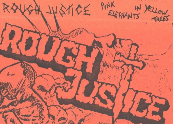 Rough Justice + tape cover